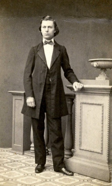 Engelbert Roentgen as a young man.