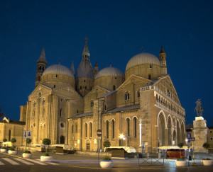 Basilica of Saint Anthony of Padua, where Tartini worked for 49 years.